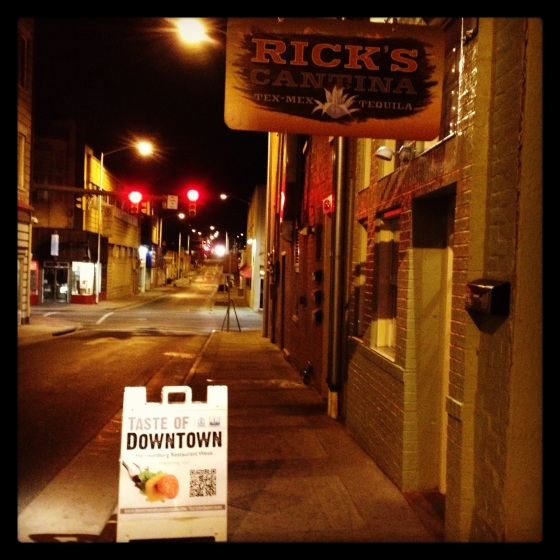 Rick's Cantina Downtown Harrisonburg Taste of Downtown